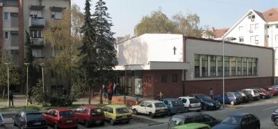 Današnja zgrada crkve