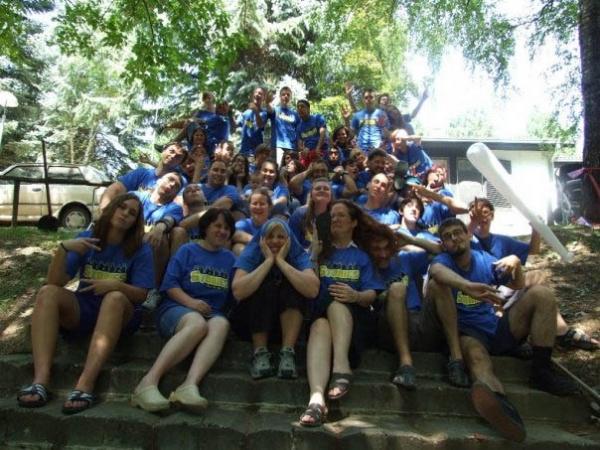 Učesnici engleskog kampa 2009.