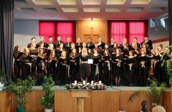 Božićni koncert udruženog hora Saveza baptističkih crkava u Srbiji