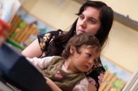 Nedeljna škola, najmlađi, sa veroučiteljicom