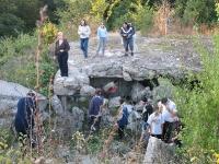 Snimanje filma na Fruškoj gori